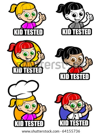 Kid Tested Icon version girl