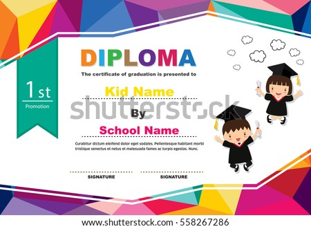 Graduation Certificate Stock Images, Royalty-Free Images & Vectors