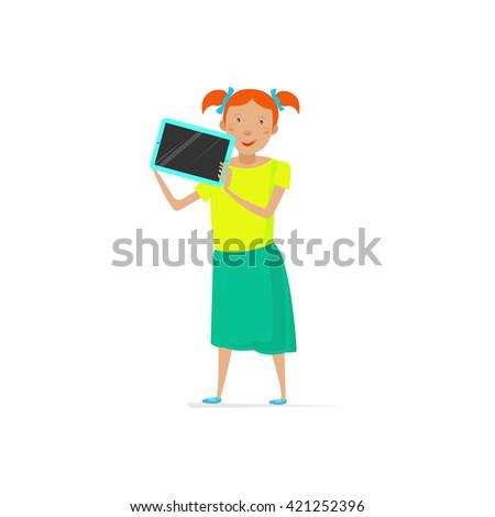Kids tablet, Kids tablet, Kids tablet, Kids tablet, Kids tablet, Kids tablet, Kids tablet, Kids tablet, Kids tablet, Kids tablet, Kids tablet, Kids tablet, Kids tablet, Kids tablet, Kids tablet. - stock vector