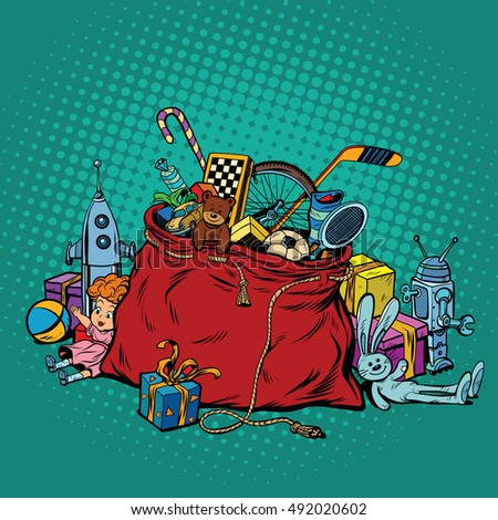 Bag Of Toys Stock Photos, Royalty-Free Images & Vectors - Shutterstock