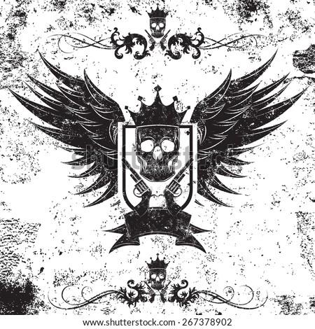 king gangster i... King Of Kings Logo Wallpaper