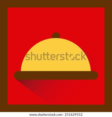 kitchen icon design, vector illustration eps10 graphic  - stock vector