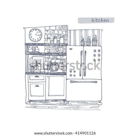 Prozerpina 39 s portfolio on shutterstock for Kitchen interior design websites