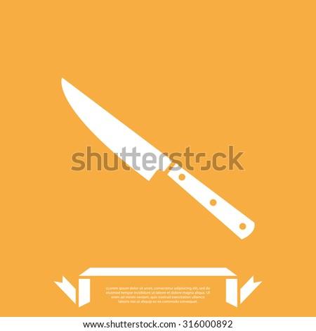 Kitchen Knife Vector kitchen knife vector illustration stock vector 316000892