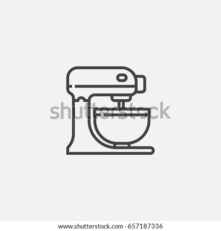 Food Mixer Stock Images Royalty Free Vectors
