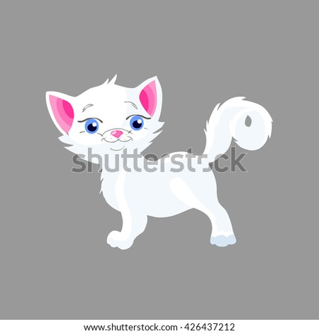 kitten - stock vector