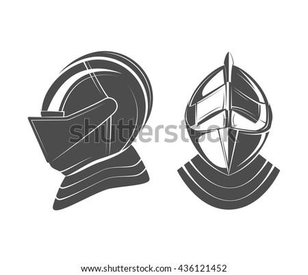 knight warrior mascot - stock vector