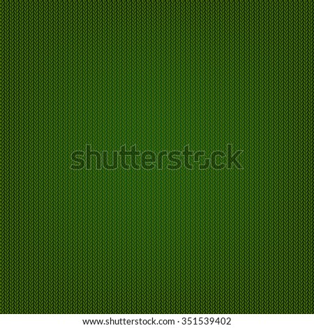 Knitted Texture, Vector Illustration - stock vector
