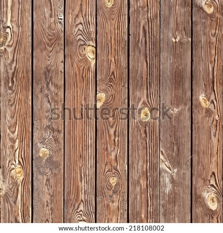 Knotted Planks Background for your design. EPS10 vector. - stock vector