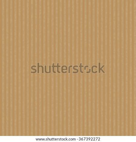 Kraft recycled paper texture vector. - stock vector