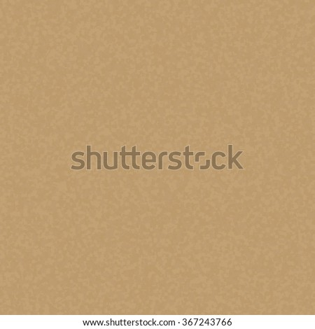 Kraft recycled paper texture vector. Seamless craft paper. Cardboard brown background. Handmade paper pattern. - stock vector