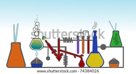 lab esp10 - stock vector