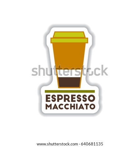 Label Frames Badges Vector Icons Coffee Stock Vector 640681135 ...