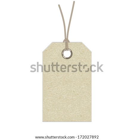 label isolated on white background - stock vector