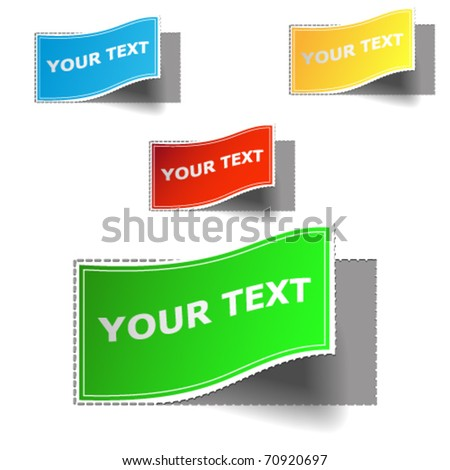 label set vector for design