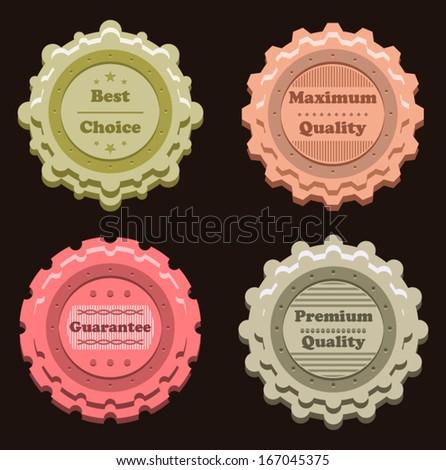 labesl vector stickers labels stock vector 167045375 shutterstock