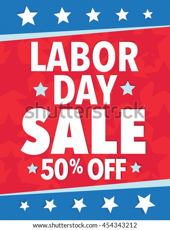 Labor Day Sale - Save up to sign with 50%