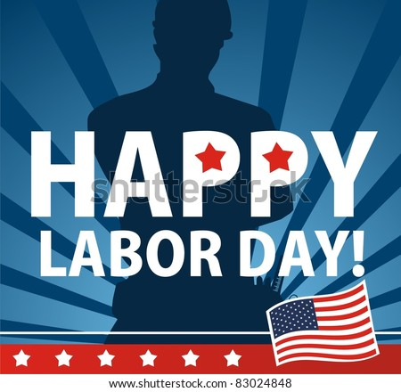 Labor day USA - stock vector