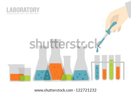 Laboratory - stock vector
