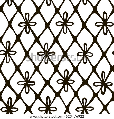 lace hand drawn seamless pattern realistic stock vector 523476922 rh shutterstock com