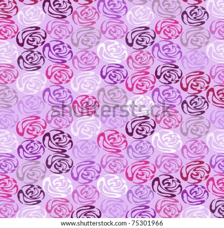 Lacy background from a roses