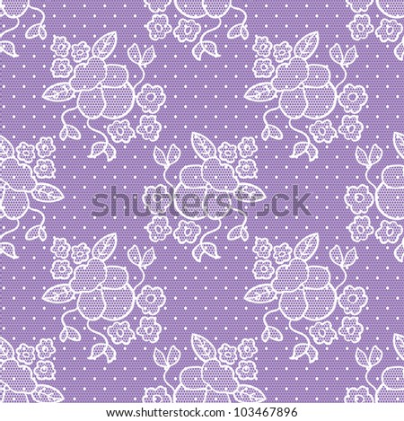 Lacy vintage gentle vector background. Seamless pattern. - stock vector