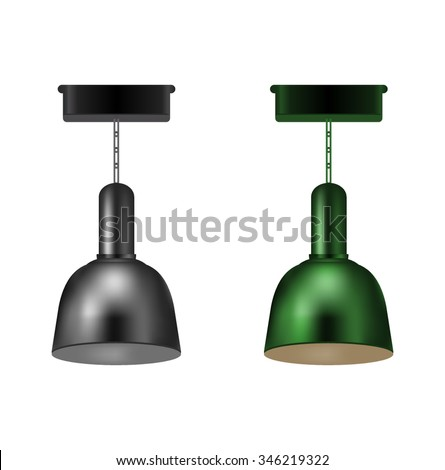 Lamp Industrial Item Stock Vector Royalty Free