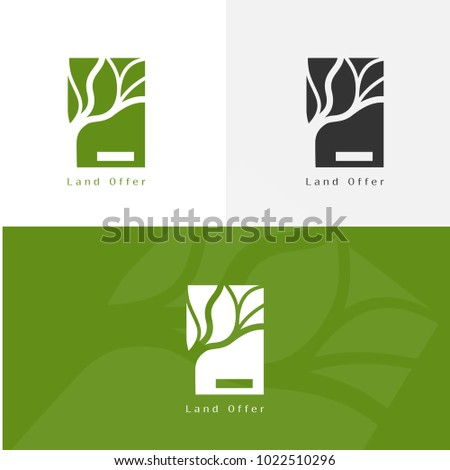 Landscape Architecture Logo For Branding Identity Vectot Image