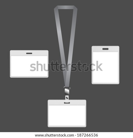 Lanyard badges