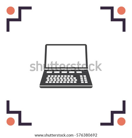 Cash Register Vector Line Icon Isolated Stock Vector ...