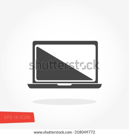 Laptop Icon / Laptop Icon Vector / Laptop Icon Picture / Laptop Icon Image / Laptop Icon Graphic / Laptop Icon Art / Laptop Icon JPG / Laptop Icon JPEG / Laptop Icon EPS / Laptop Icon AI - stock vector