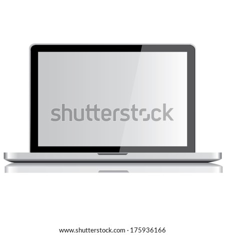 laptops template. screen concept design. vector illustration