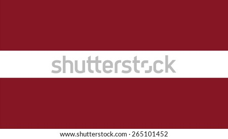 latvia Flag for Independence Day and infographic Vector illustration. - stock vector