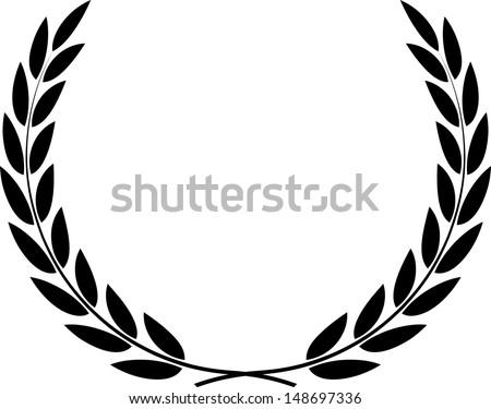 Laurel Wreath Vector  - stock vector