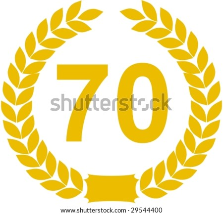laurel wreath 70 years