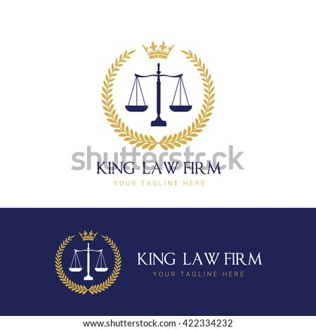 Law Firm Logo Template Stock Vector 422334232 - Shutterstock