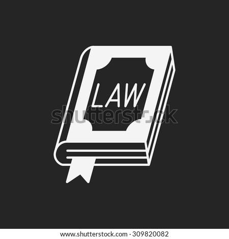 law icon - stock vector