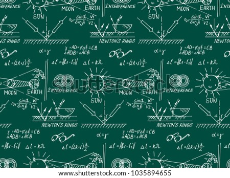 Law Optics Retro Education Scientific Background Stock Vector ...