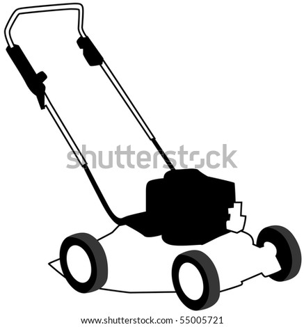 lawn mower icon stock images, royalty-free images & vectors