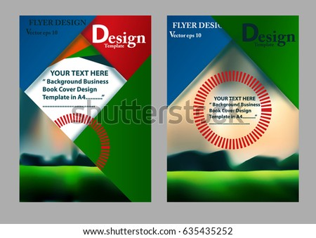 Geographics Business Cards Template