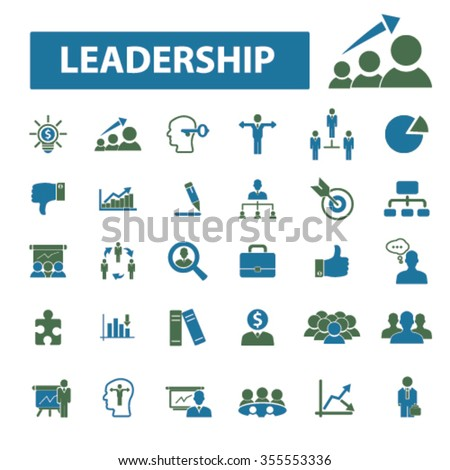 leadership, leader team, management, human resources, avatar, community  icons, signs vector concept set for infographics, mobile, website, application  - stock vector