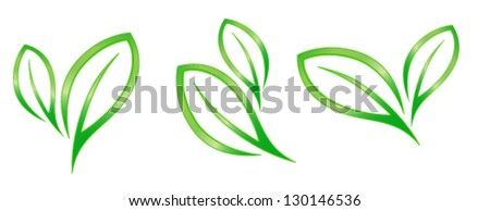 leaf concept - stock vector