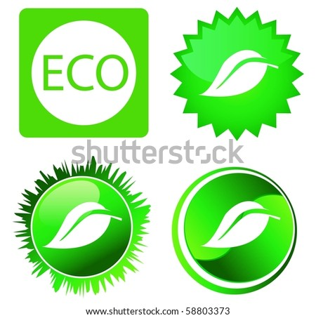 leaf vector - stock vector