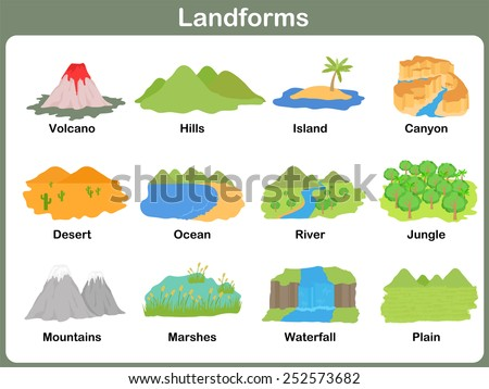Landforms Stock Images, Royalty-Free Images & Vectors | Shutterstock
