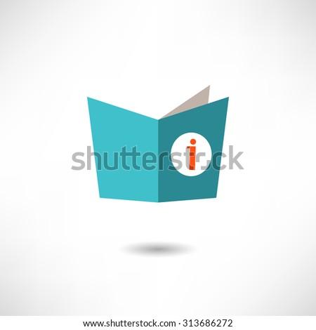 Learning symbol,vector - stock vector