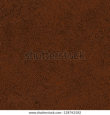 Leather texture - vector background - stock vector