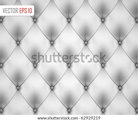 Leather upholstery background. Vector - stock vector