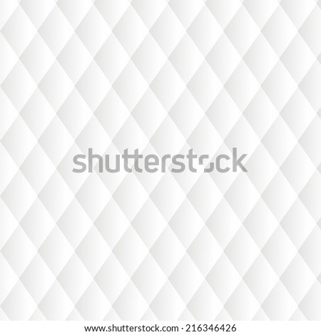 Leather Upholstery White Background - stock vector