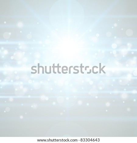Lens flare light vector background eps 10 - stock vector