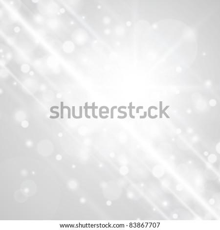 Lens flare light vector background eps 10 - stock vector